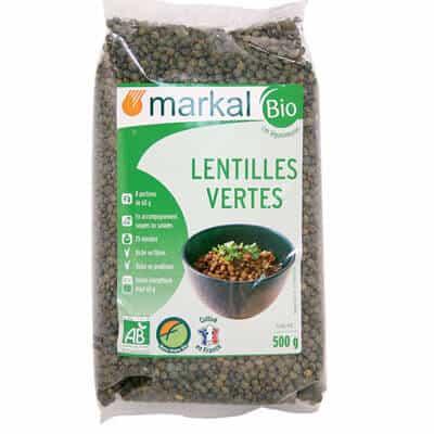 Lentilles vertes – Markal