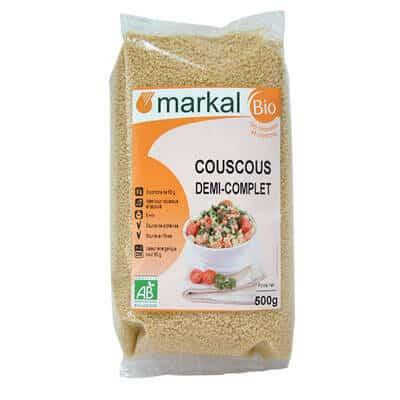 Acheter couscous demi complet - produit végétarien