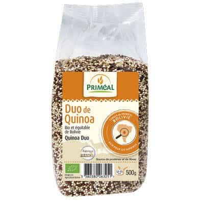 Duo de quinoa - produit végétarien