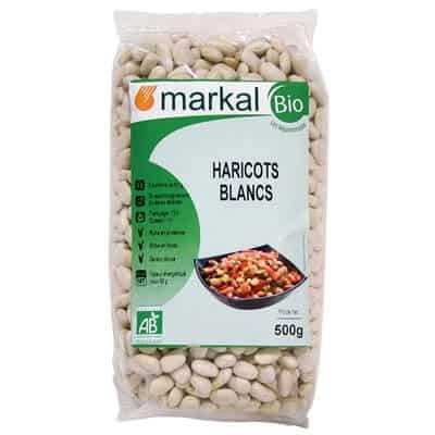 haricots blancs bio - produits végétariens