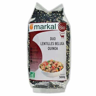 acheter lentilles beluga quinoa bio