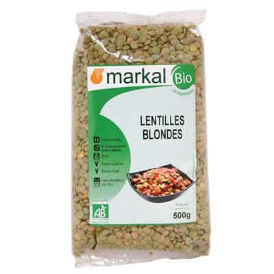 lentilles blondes - boutique de produits végétariens