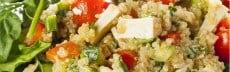 menu végétarien simples pour une semaine
