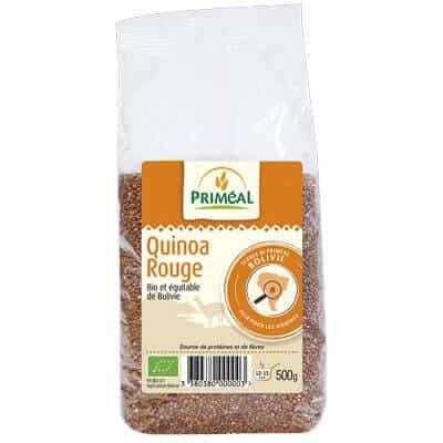 quinoa rouge - produit végétarien