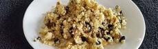 Recette végétarienne pilaf de millet au safran