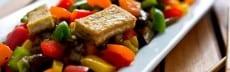 recette végétarienne wok de tofu aux légumes