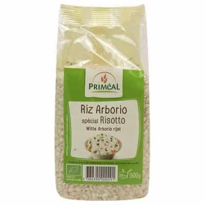 Riz arborio bio - boutique produits végétariens