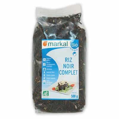 riz noir complet - céréale - produit végétarien