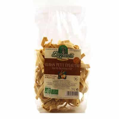 Pâtes bio ruban petit épeautre lazzaretti