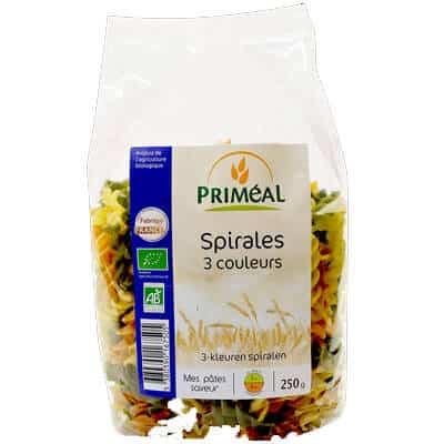Acheter spirales 3 couleurs - produit végétarien