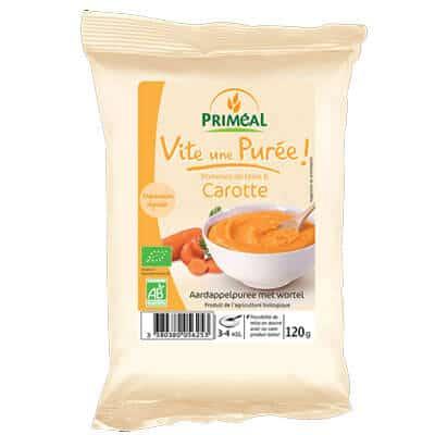 Purée de carottes Priméal