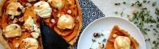recette végétarienne quiche courge butternut