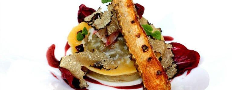 Recette végétarienne raviolis de radicchios