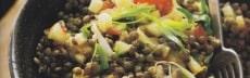 recette végétarienne salade lentilles
