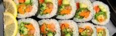 recette sushi végétarien