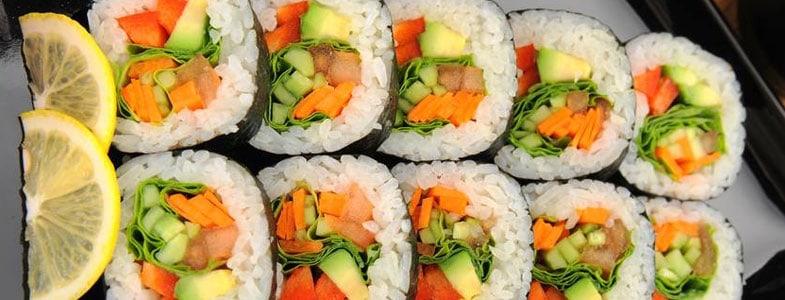 recette v g tarienne sushis v g tariens menu vegetarien. Black Bedroom Furniture Sets. Home Design Ideas