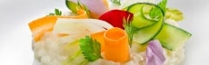 recette végétarienne risotto aux légumes marinés
