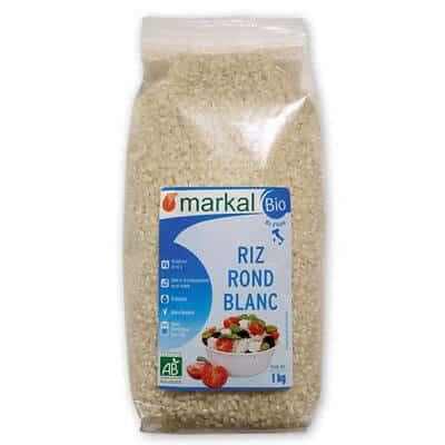 Riz rond blanc Markal- produit végétarien