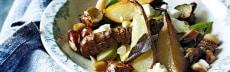 Salade végétarienne d'hiver aux topinambours