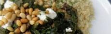 recettte végétarienne quinoa blettes