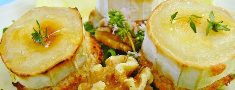 recette salade chèvres chauds noix