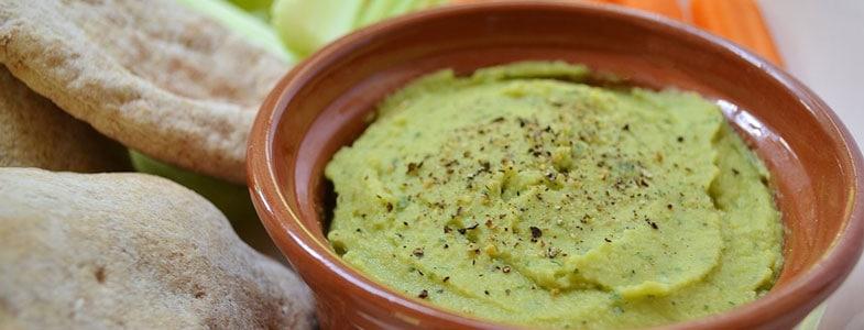 Crème de fèves au tahin