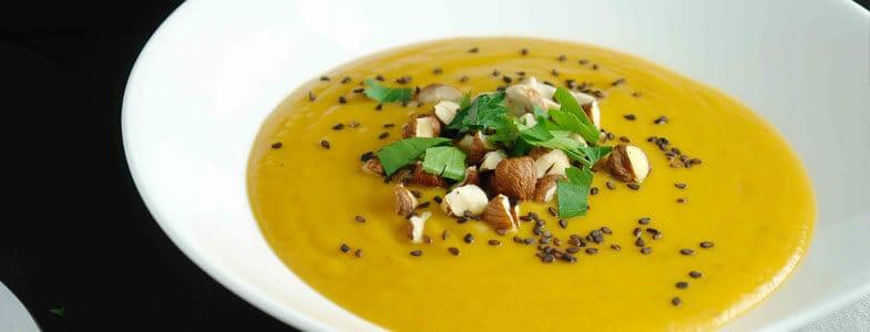 Recette vegan soupe de lentilles blondes - Comment cuisiner des lentilles blondes ...