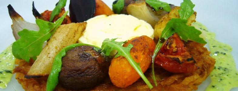 Menu végétarien pour la semaine du 8 février