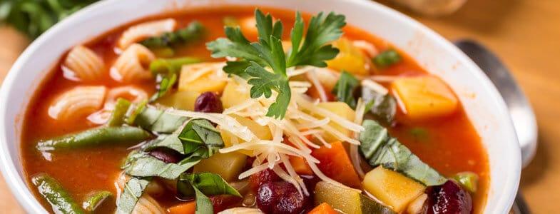 Recette minestrone végétarien