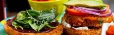 recette burger végétarien patate douce