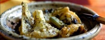 recette entrée artichauts grilles