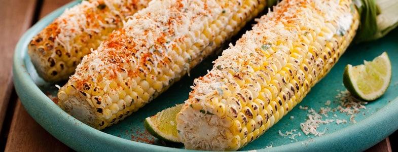 Recette maïs grillé à la mexicaine