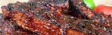 ribs seitan barbecue végétarien