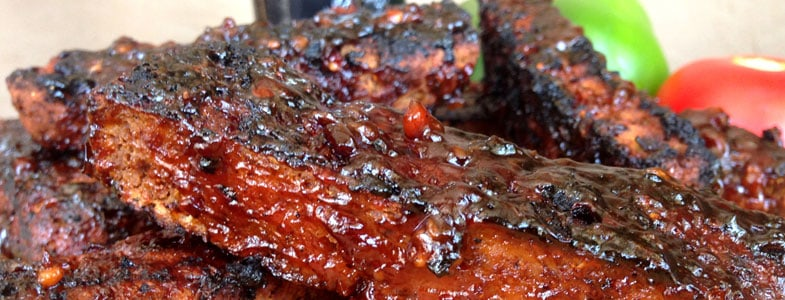 Recette Ribs végétariens au barbecue