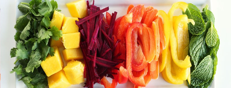 menu végétarien semaine 13 juin