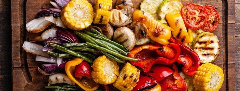 menu végétarien semaine