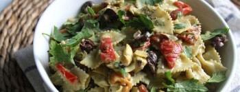 Recette végétarienne salade poivrons artichauts