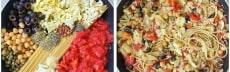 recette one pot pasta végétarienne