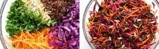 Recette végétarienne salade asiatique quinoa