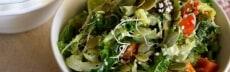 salade vegan chou kale