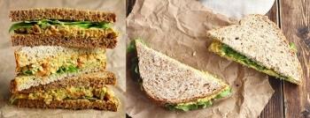 recette sandwich vegan