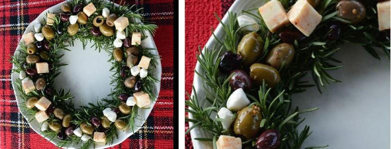 Recette végétarienne – Couronne de romarin et olives