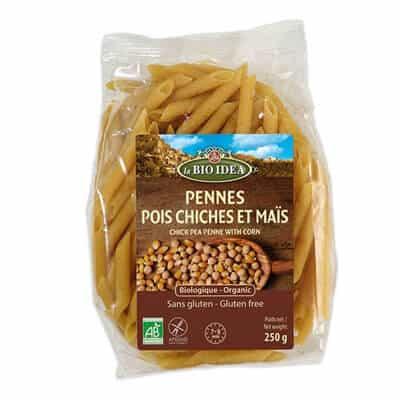 produits vegetarien penne pois chiches