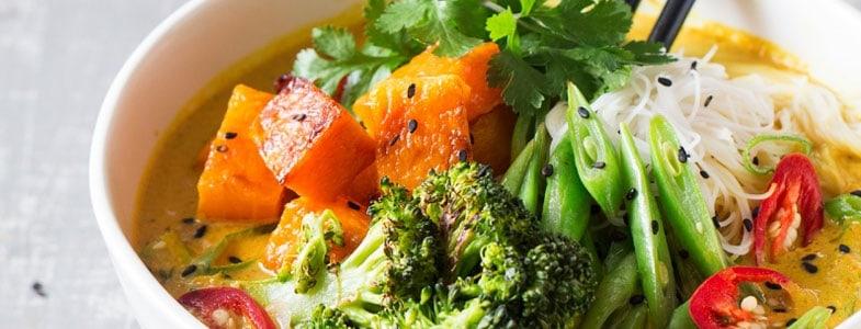 recette vegan soupe khao soi