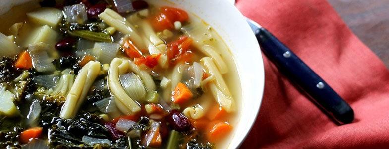 Recette végétarienne – minestrone des Andes