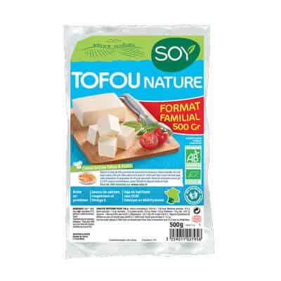 tofu nature soy