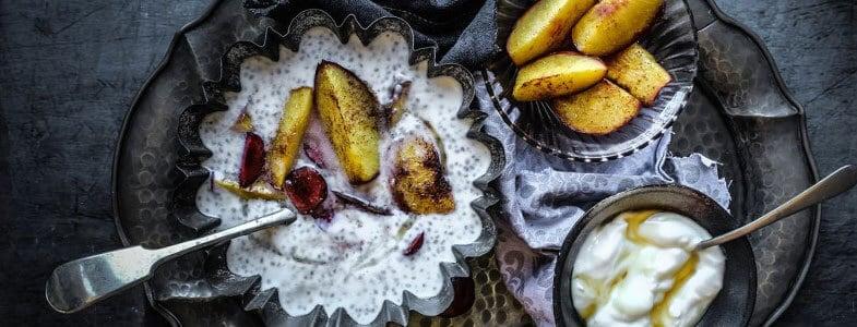 Recette végétarienne – Pudding aux graines de chia