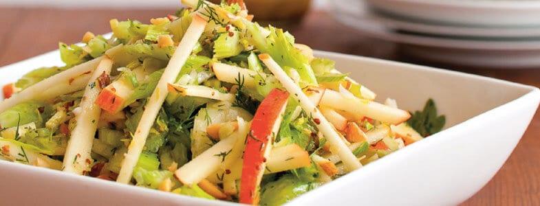Recette végétarienne – Salade pomme céleri