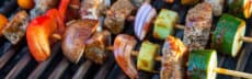 recette végétarienne brochette seitan