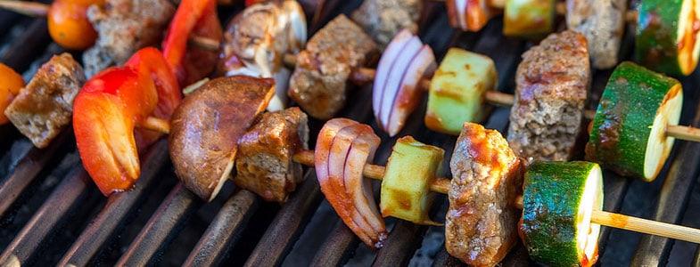 Recette végétarienne – Brochettes de seitan